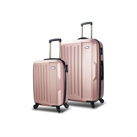 My Valice Travel Abs 2li Valiz Seti (Kabin ve Orta) Rose Gold